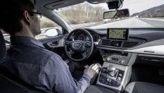 Tutti a bordo dell'Audi a guida autonoma